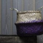 Panier boule ultra violet
